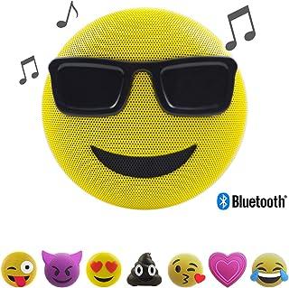 Jam Audio PEM02-EU Jamoji Cool Glasses Emoji Portable Bluetooth Speaker (Pack of 1)