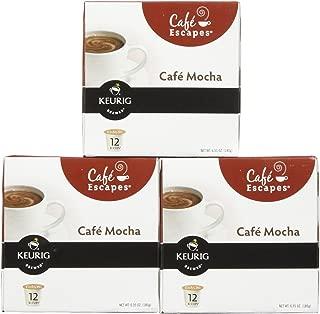 Green Mountain Coffee Roasters Gourmet Single Cup Coffee Café Mocha 12 K-Cups Green Mountain Coffee - (Pack of 3)