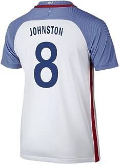 NIKE Johnston #8 USA Home Soccer Jersey Rio 2016 Olympics Youth.