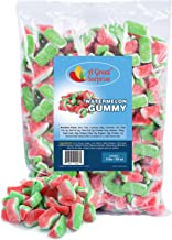 Gummy Candy – Watermelon Candy – Gummy Watermelon Slices – Pink Candy - Bulk Candy – 5 Pounds