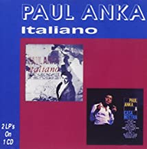paul anka italiano cd