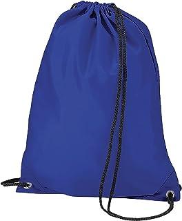 BagBase Budget Water Resistant Sports Gymsac Drawstring Bag (11 Litres) (UK Size: One Size) (Royal)