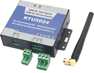FidgetGear New GSM Gate 3G Relay Switch Remote Access Control Wireless Door Opener RTU5024