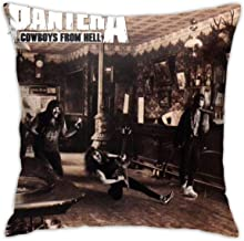 FLPIEX Pantera Cowboys from Hell GiftCover Pillowcase 16