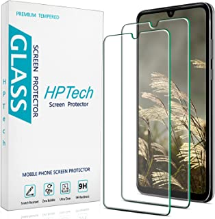 [2-Pack] HPTech Screen Protector Compatible for Huawei P30 Lite Tempered Glass, 9H Hardness, Easy to Install, Bubble Free