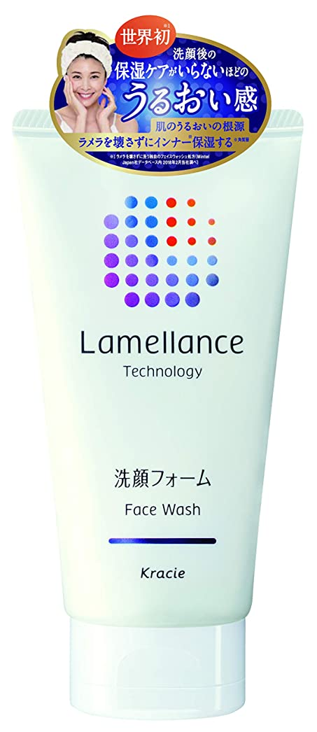 言語学放棄するスワップラメランス フェイスウォッシュ110g(透明感のあるホワイトフローラルの香り) 角質層のラメラを壊さずに洗えるフェイスウオッシュ