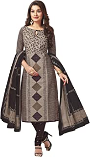 Jevi Prints Women's Cotton Dress Material