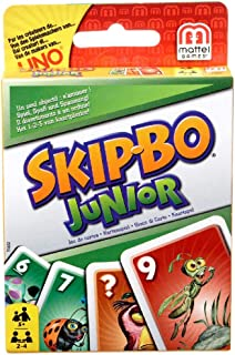 Mattel Games Skip-Bo Junior Card Game, standard, T1882
