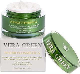 Vera Green Dermo Cosmética - Crema de Aloe Vera Facial de Día y Noche - 100% Natural - 50ml