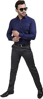 Realone Fashion Men's Regular Fit Full Sleeves Formal Shirt