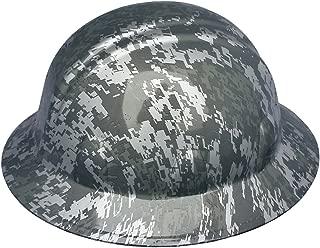 Texas America Safety Company Digital Camo Full Brim Style Hydro Dipped Hard Hat