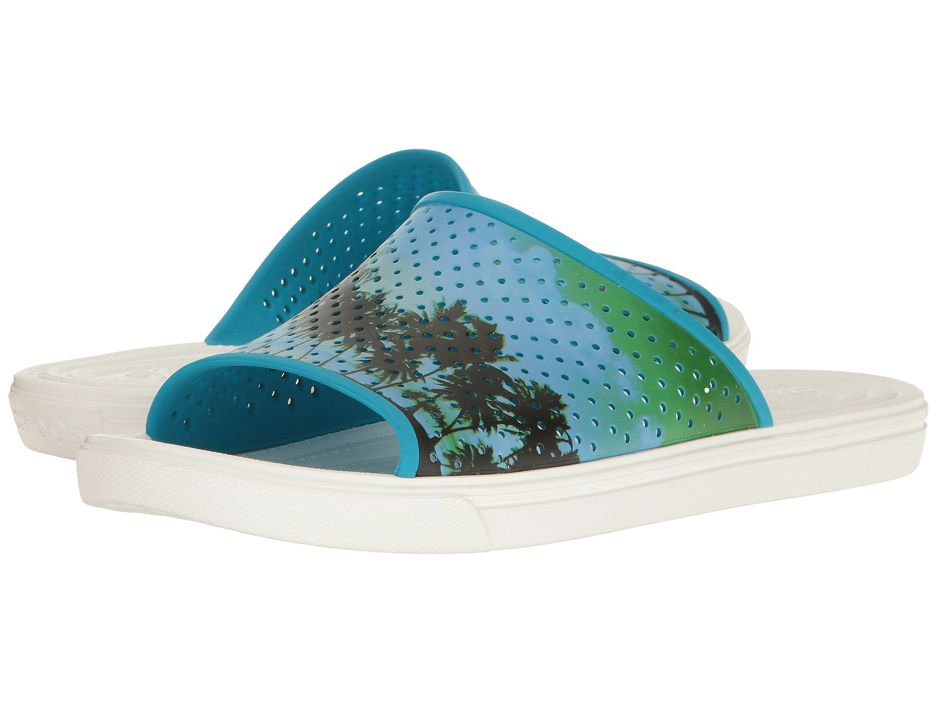 Chanclas para Hombre Crocs CitiLane Roka Tropical Slide  + Crocs en VeoyCompro.net