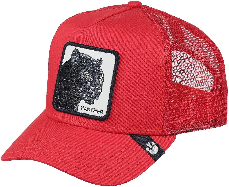 Goorin Bros. Trucker Cap Black Panther Red - One-Size