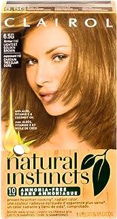 Clairol Natural Instincts Hair Color, [6.5G] Lightest Golden Brown 1 Each