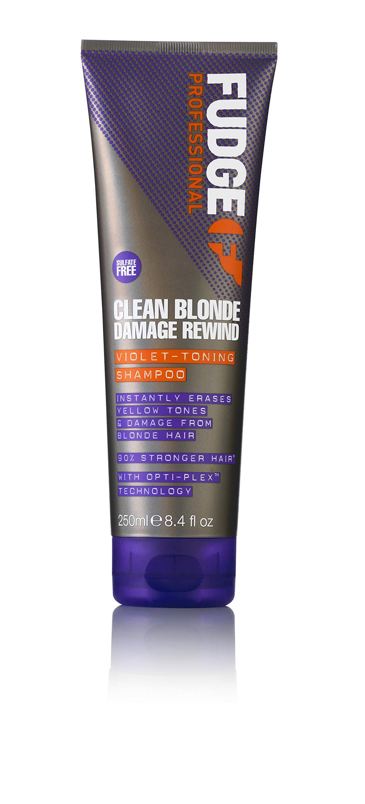 fudge violet toning shampoo