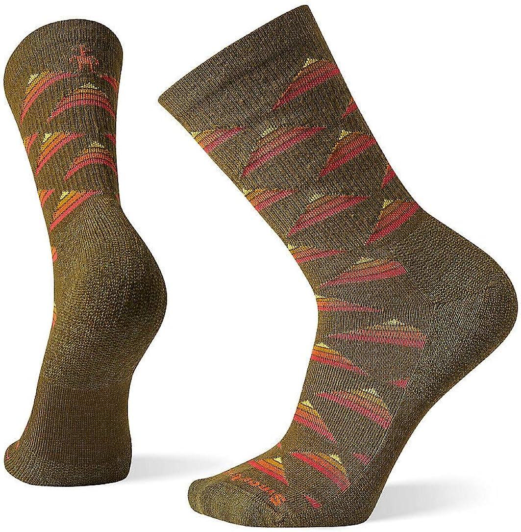 Smartwool Men's Hike Burgee Crew Light Elite Merino Wool Socks, Black, Extra Large