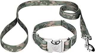 Country Brook Design - Premium Collar & Leash - Military and Camo Collection