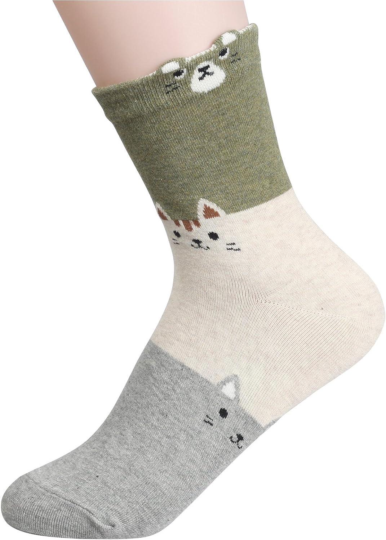 Customonaco Womens Cool Animal Fun Crazy Socks