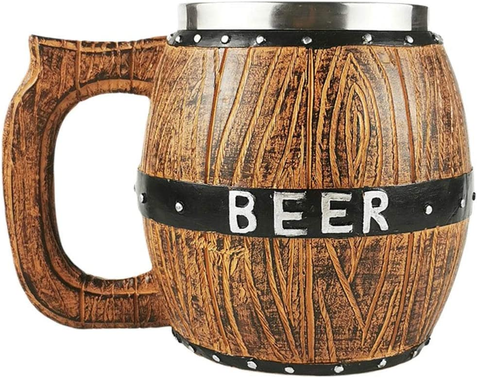 Beer Mug Cheap Stein with Handle Resin Nashville-Davidson Mall 580ml Stainless 20 Steel