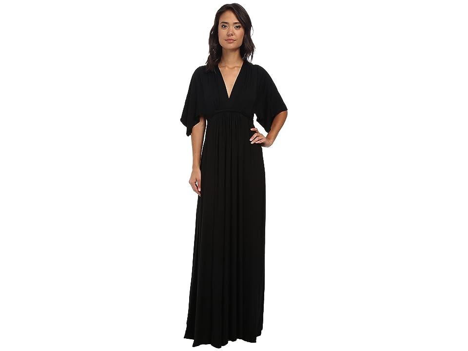 Rachel Pally Long Caftan Dress (Black) Women