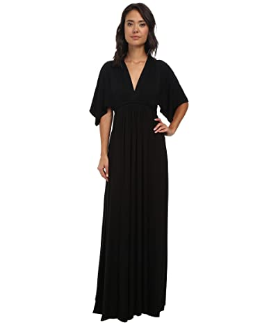 Rachel Pally Long Caftan Dress (Black) Women