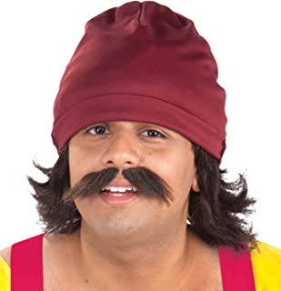 Forum Novelties Men's Cheech Kit with Cap Wig and Moustache