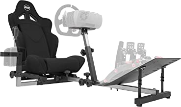 Best OpenWheeler GEN3 Racing Wheel Stand Cockpit Black on Black   Fits All Logitech G923   G29   G920   Thrustmaster   Fanatec Wheels   Compatible with Xbox One, PS4, PC Platforms Review