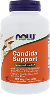 NOW Supplements, Candida Support with Pau D'Arco, Oregano...