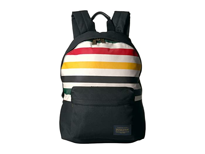 Canopy Canvas Backpack (Glacier Stripe) Backpack Bags