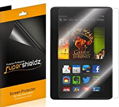 (3 Pack) Supershieldz Anti Glare and Anti Fingerprint (Matte) Screen Protector for Kindle Fire HDX 7 inch Tablet (2013 Rel...