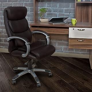 Home Centre Davis Office Chair - Rich Brown