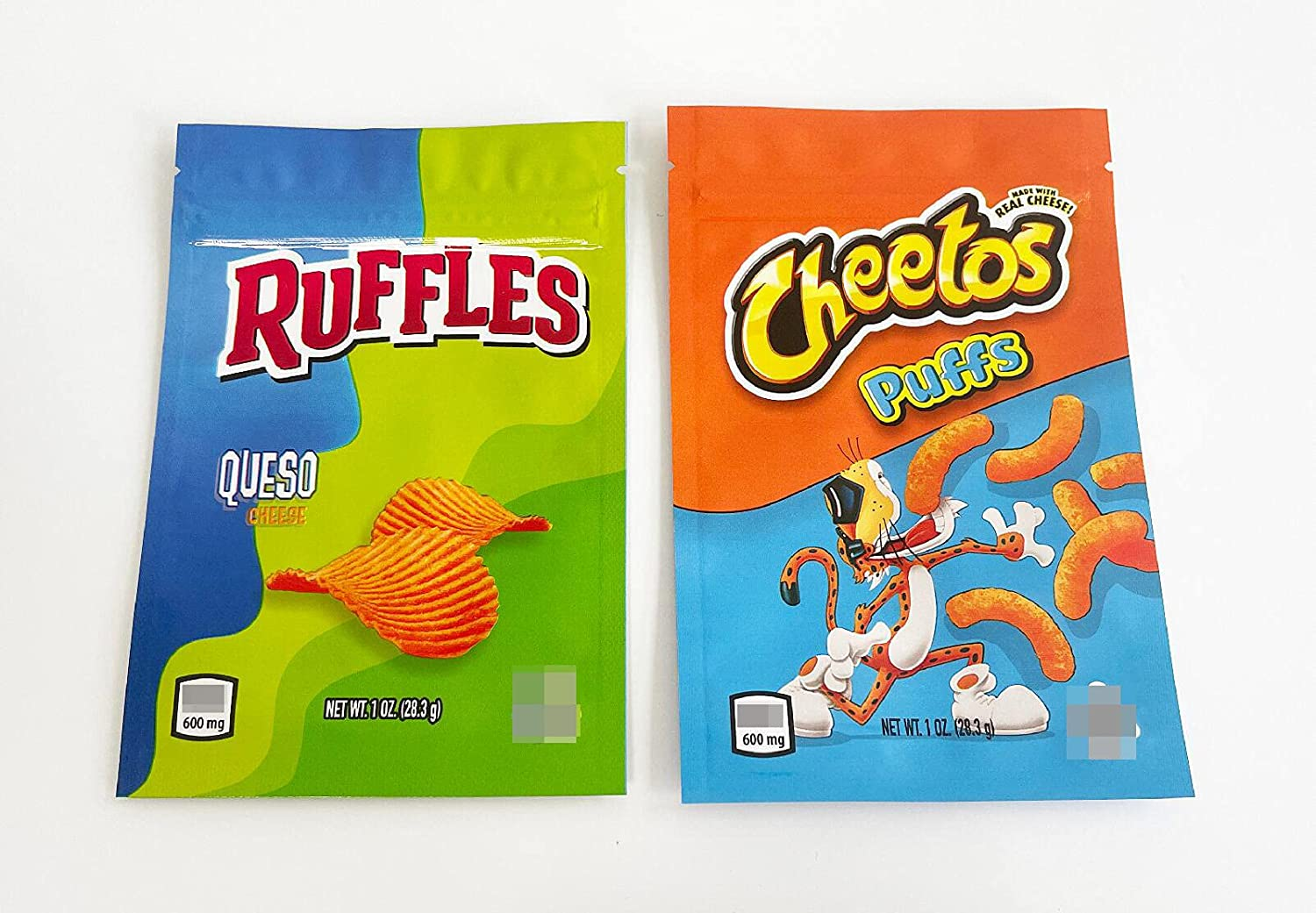250 PCS Treats Bags Edible Fort Worth Mall Packaging Cheetos Ruffles Queso 2 Mix Japan's largest assortment