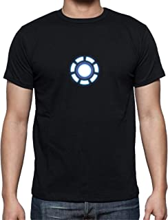 The Fan Tee Camiseta de Hombre Iron Man Los Vengadores Hulk Stark Industries 001