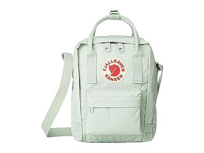 Fjallraven Kanken Sling (Mint Green) Cross Body Handbags