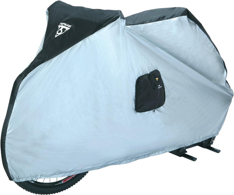 Topeak Bike Cover for 29Er 190T Nylon UvProof (Black Silver, 77.2x24.8x41.3Inch)