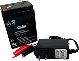 6v 5ah with Charger Battery for Merske Harley Chopper Motorcycle