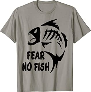 Best fear no fish shirt Reviews