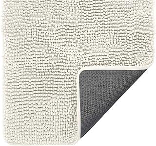 Gorilla Grip Indoor Durable Chenille Doormat, 30x20, Soft Absorbent Mat, Machine Wash Inside Mats, Low-Profile Rug Doormat...