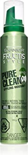 Garnier Fructis Style Pure Clean Styling Mousse, 6.4 Oz