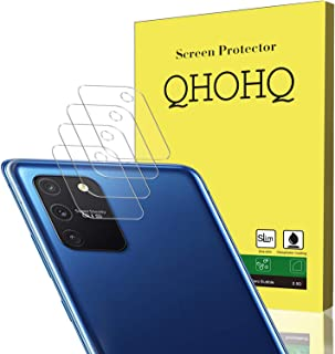 QHOHQ Camera Lens Protector voor Samsung Galaxy S10 Lite Screen Protector, [4 Pack] Bubble Free High Definition Anti-Kras ...