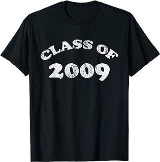 Class of 2009 Shirt Class Reunion T-Shirt Retro Style