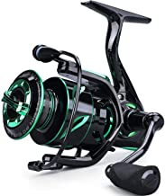 Sougayilang Spinning Fishing Reel Light Weight 6.2:1 High-Speed Gear Ratio with 12+1 Stainless BB and CNC Aluminum Spool for Freshwater and Saltwater Fishing