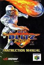 NFL Blitz 2001 N64 Instruction Booklet (Nintendo 64 Manual Only) (Nintendo 64 Manual)