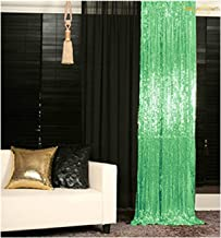 ShinyBeauty Sequin BACKDROP-2FTx7FT Mint Sequin Photo Backdrop,Photo Booth Background,Sequence Christmas Backdrop Curtain (Light Mint)