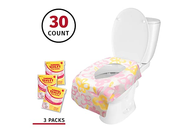 Awe Inspiring Best Flushable Seat Covers For Toilets Amazon Com Creativecarmelina Interior Chair Design Creativecarmelinacom