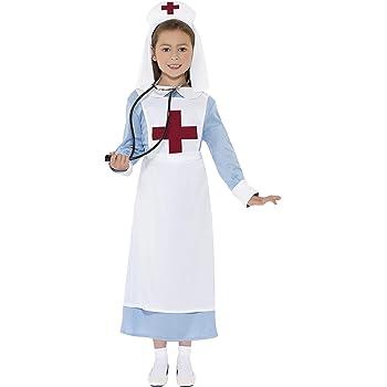 SmiffyS 44026M Disfraz Enfermera Primera Guerra Mundial Con ...