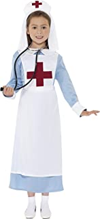 Smiffy'S 44026M Disfraz Enfermera Primera Guerra Mundial Con