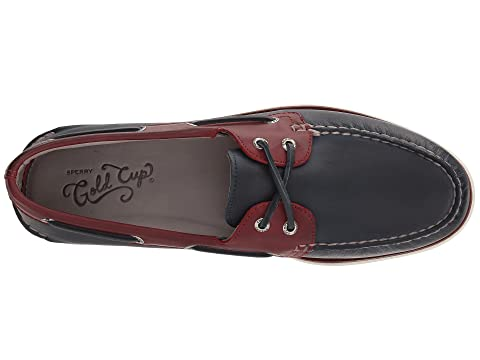 Brown O 2 Navy A Sperry RedTan Roustabout Gold Eye E8STSw1q