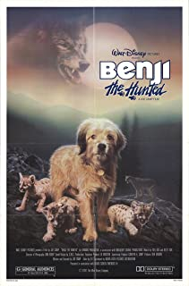 Benji the Hunted 1987 Authentic 27