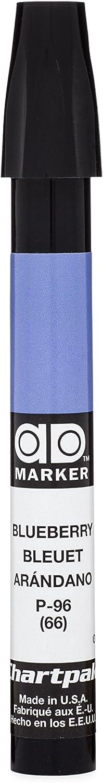 The Original Chartpak AD Marker, Tri-Nib, Blueberry, 1 Each (P96)